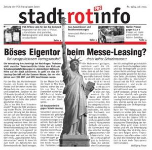 """Messe Essen: Hoffnungslos """"verleast"""". Crossborder Leasing"""