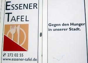 "Essener Tafel: ""gegen den Hunger in unserer Stadt"""